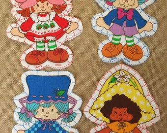 Vintage Strawberry Shortcake pillow doll pattern collection