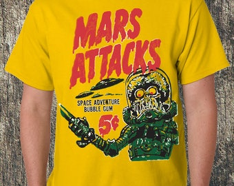 Mars Attacks! Yellow Tee
