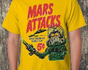 Mars Attacks! Yellow Tee