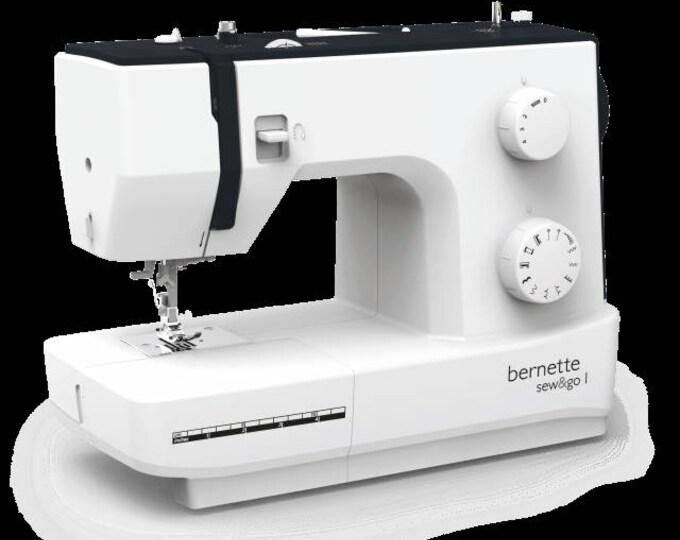 Bernette sew&go1 Sewing Machine