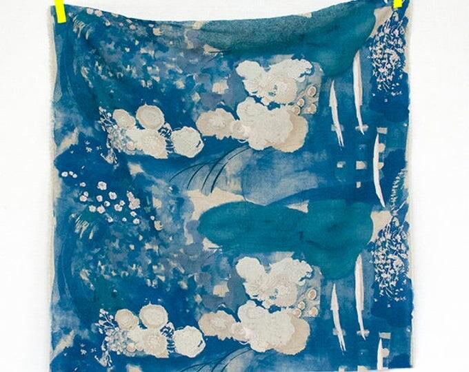 Nani Iro Komorebi in Old Film- Brushed Linen Cotton