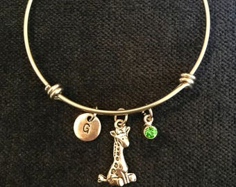 Giraffe Bangle Giraffe Bracelet