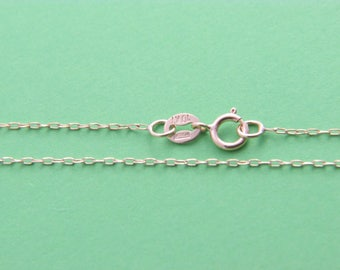 """10kt yellow gold cable link chain necklace pendant chain 16"""",16"""",20"""",22"""",24""""(WHOLESALE PRICE)"""