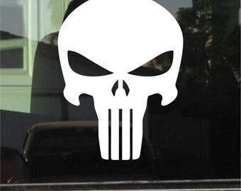 The Punisher Skull 7 Inch Vinyl Sticker