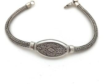 Bali Plaque Bracelet