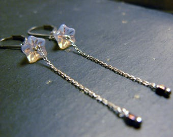 Fine and elegant earrings