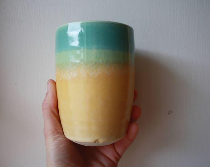 Tumbler - Handmade - Ceramics and Pottery - KJ Pottery