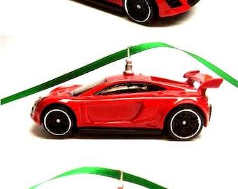 Mastretta MXR Sports Car Hot Wheels Ornament