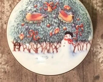Wedgwood 12 Days of Christmas Two Turtledoves *Possible Misprint *