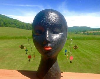 Calder inspired mobile earrings original design
