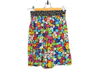 Vintage Floral Colorful Shorts
