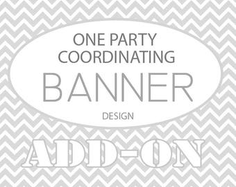 Banner Custom Party Coordinating Item