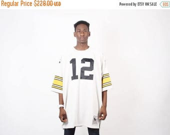 Closing SALE - QUESTION - Vintage Pittsburgh Steelers Jersey - Terry Bradshaw Jersey - NFL Jersey - 2326