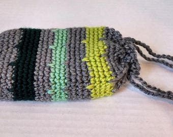 Greens and Grey deck bag