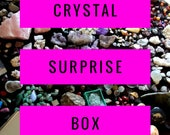 CRYSTAL SURPRISE Box by Love Beyond the Moon - Huge selection of Gems, Jewellery, Spiritual Symbols & Crystal goodies. Free Postage.