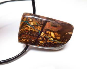 Australian Koroit Opal Pendant / Boulder Opal Pendant