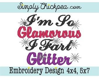 Glamorous glitter i im piss so