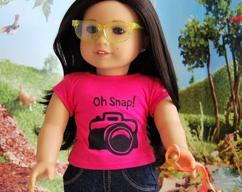 T-Shirt For American Girl Dolls. Perfect For Z.