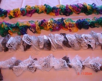 Colorful Boas or Scarves, Each