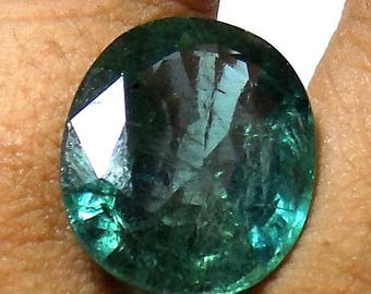 14.92 Cts Emerald ,  Zambian Emerald, Perfect for Ring or Pendant