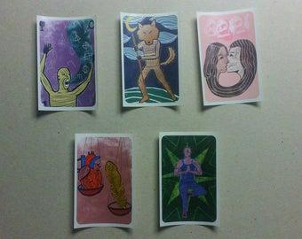 Tarot Stickers