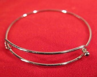 2pc 62mm stainless steel bangle bracelet (JC177)