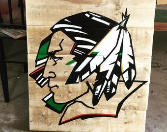 Painted Sioux Sign