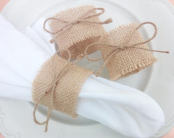 Rustic Jute, Napkin Rings, Rustic Napkin Napkin Ring, Rustic Wedding, Napkin Napkins, Rustic Chic, Wedding Table