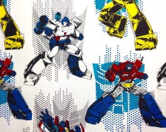 One Half Yard of Fabric Material -  Transformers