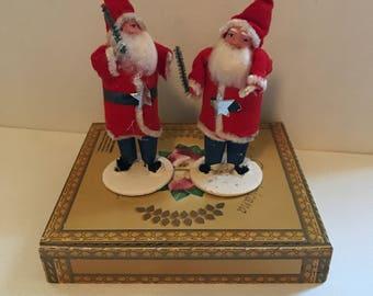 One (1) Special Vintage Clay-face Santa