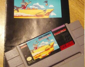 5 Classic SNES Original Games with Manuals