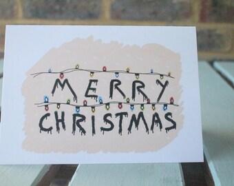 Merry Christmas Stranger Things.