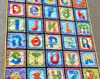 Handmade baby quilt | Etsy : handmade baby quilts etsy - Adamdwight.com