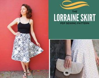 Lorraine Skirt PDF Pattern