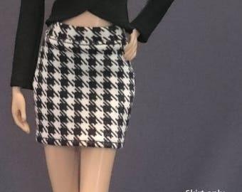 Skirt for Barbie,Muse barbie,LIV dolls, FR, Silkstone - No.0517