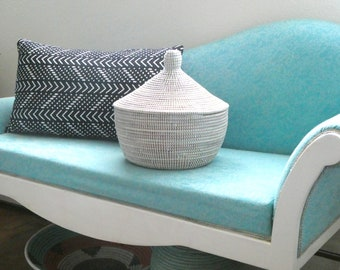 New Small White Basket, Storage, Cesto, Korb