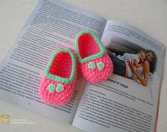 Baby booties, Pregnancy announcement, Pink Baby shoes, baby shoes, soft sole, baby boots, toddler shoes, baby girl shoes, baby moccasins
