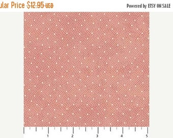 Summer Sale- Vintage Rose~Dots on Pink~Cotton Fabric,~Northcott~Fast Shipping