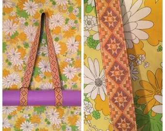 Yoga Strap Sling 2-in-1 Unique Upcycled Mat Carrier