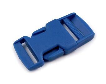 4 clip strap 25 mm blue