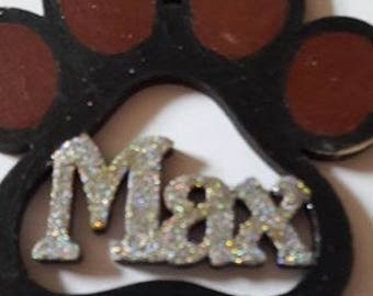 Pet Name Bauble