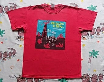 They Might Be Giants Science Is Real T shirt, size Medium Here Comes Science album indie rock alternative OOP
