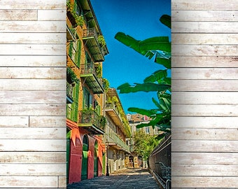 PIRATE'S ALLEY - St. Louis Cathedral - New Orleans art - French Quarter - Architecture -  NOLA Photography