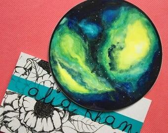 Space Sticker, Laptop Sticker