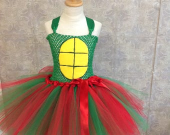 Ninja Turtle Tutu Dress, TMNT Tutu Dress, Ninja Turtle Tutu Costume, Costumes, Tutu Dress Costumes, Ninja Turtles