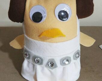 Star Wars Princess Leia Owl Stuffie Plush Doll