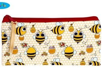 Kawaii Bees Pencil Pouch