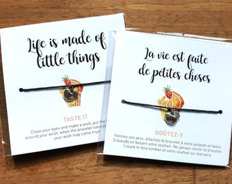 La vie est faite de petites choses • Life is made of little things