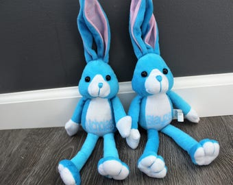 Personalized Easter Bunny, Easter Gift, Easter Bunny Plush, Personalized Easter Gift