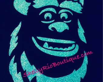 Sulley Iron On, Monsters Inc Iron On